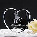 Tortenfiguren & Dekoration Garten Klassisch Klassisches Paar Herzen Krystall Hochzeit Brautparty Mit Geschenkbox 2018 - €10.51