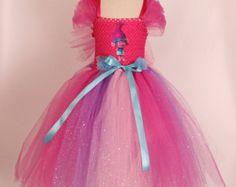 Trolls Poppy Costume - Poppy Tutu Dress - Handmade Dress - Poppy Trolls Dress - Poppy Hairband - Birthday Party Dress - Trolls Cosplay by LittleAngelTutuDress on Etsy Princess Poppy Costume, Princess Tutu Dresses, Princess Party, Troll Costume, Tutu Costumes, Costume Dress, The Dress, Fancy Dress, Birthday Party Outfits