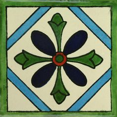 Traditional Mexican Tile - Anturio