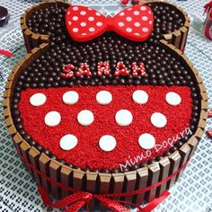 """Minnie Mouse Birthday Cake..."""