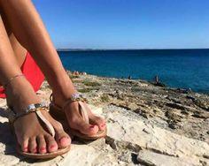 #ladolcevita #il viaggio #gallipoli  Grazie a Ilaria Ferrandino 😘   #sandals #sandali
