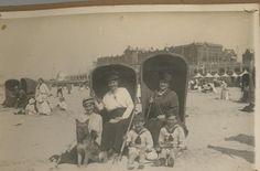 Scheveningen beach near Kurhaus, 1912