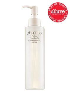 Best of Beauty 2015 Winner -- The best cleanser for normal skin: Shiseido Perfect Cleansing Oil | allure.com