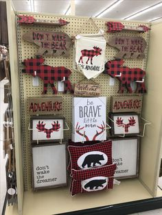20 Ideas For Baby Boy Nursery Lumberjack Hobby Lobby, Shower Bebe, Baby Boy Shower, Baby Boy Rooms, Baby Boy Nurseries, Plaid Nursery, Nursery Room, Cabin Nursery, Nursery Ideas