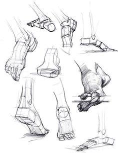 foot reference. Geometric feet! http://figuredrawingdotinfo.blogspot.com/