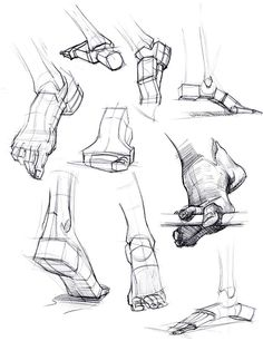 foot reference. Geometric feet! http://figuredrawingdotinfo.blogspot.com/
