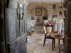 french country house.
