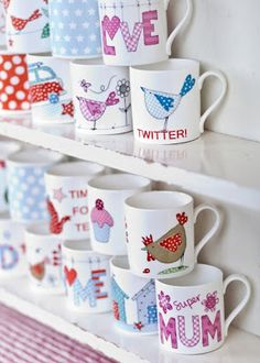 mugs - love 'em and there are so many fantastic designs!