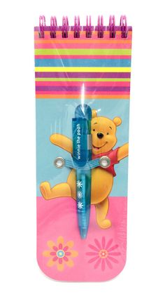 Disney Winnie the Pooh Slim Jotter Note Pad and Pen in Business, Office & Industrial, Office Equipment & Supplies, Office Supplies & Stationery Christmas Presents For Mum, Kids Christmas, Office Branding, Thing 1, Pooh Bear, Disney Winnie The Pooh, Stocking Stuffers, Great Gifts, Stationery