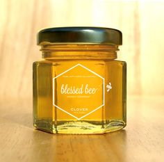 Blessed Bee Honey by Diana Hu, via Behance