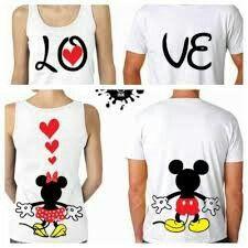 LOVE Mickey and Minnie's Backs Couples Matching Shirts and Tanktop. Disney Shirts, Disney Outfits, Cute Outfits, Twin Outfits, Matching Couple Outfits, Matching Couples, Cute Couples, Matching Sweaters, Matching Shirts