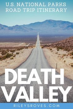 Death Valley National Park | National Parks in California | National Parks Road Trip | Road Trip Across America