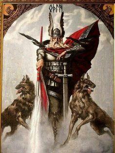 Odin at the gates