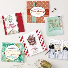 Suite Season Stamp Set by Stampin' Up! card samples