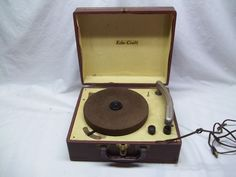 Record Player for my 78's.  I had 45's later.