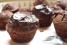Sinner Sunday: de ultieme chococakejes. GODDELIJK zijn ze!! #sinnersunday #chocolade #recept #cake
