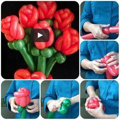 Come fare rose con i palloncini – Video Tutorial
