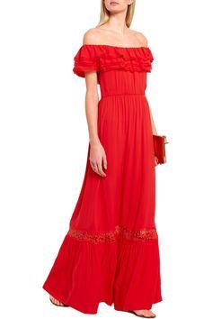 Robe maje favela rouge