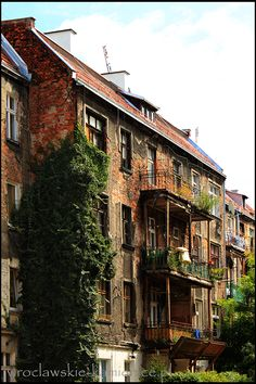 #Wroclaw #Breslau #Poland #architecture #tenement Historical Images, Central Europe, Our World, Homeland, Landscapes, Places To Visit, Germany, Romantic, Earth