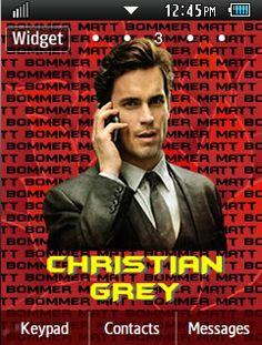 General Latest Christian Grey - Matt Bomer Samsung Corby 2 Theme Menu