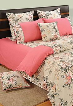 SWAYAM PINK BLOSSOM BED SHEETS- 3537 Feel the grandeur around you home as you bring these bed sheets home. Let the beautiful design and color of these bed sheets shine on your home and give your bed a changeover for a lifetime. Quilt Bedding, Linen Bedding, Bed Sheet Sets, Bed Sheets, Sofa Covers, Pillow Covers, Bed Cover Design, Printed Sofa, Stylish Beds