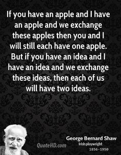 George Bernard Shaw - Apples and Ideas My Life Quotes, Best Quotes, Love Quotes, Funny Quotes, George Bernard, Bernard Shaw, Favor Quotes, Say Word, Motivational Quotes