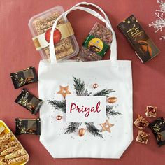 You know what will make this Christmas a merrier one for a loved one? This Canvas tote bag filled with delights like Multigrain Cheese Sticks, Mango Choco Nut Sweets and Rich Fills Choco Cookies. Christmas Is Coming, Christmas 2019, Merry Christmas, Christmas Gifts, Christmas Chocolate, Christmas Cookies, Online Gift Store, Multigrain, Canvas Tote Bags
