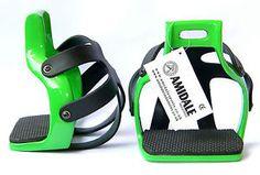 AMIDALE-ALUMINIUM-ENDURANCE-FLEX-RIDE-CAGED-SAFETY-HORSE-STIRRUPS-4-75-BNWT