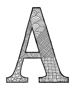 Zentangle #103 - A by hilda_r, via Flickr  http://www.flickr.com/photos/hilda_r/6545507629/in/set-72157625853920118/lightbox/