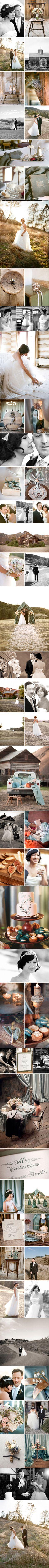 Beautiful rustic wedding.