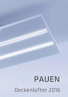 pauen deckenlüfter pd-01 | küchen deckenhauben pauen 2016/17 ... - Deckenlüfter Küche Umluft
