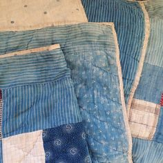 Lee Store Utrecht - Photographer for Denimhunters - Red Wing Collector Old Quilts, Antique Quilts, Vintage Quilts, Vintage Sewing, Textile Tapestry, Tapestries, Textile Art, Ticking Fabric, Country Quilts