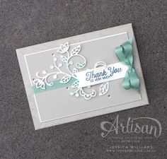 Stampin' Up! Flourishing Phrases for The Stamp Review Crew