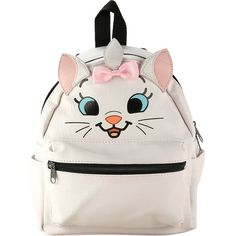 Disney The Aristocats Marie Mini Backpack Hot Topic ($35) ❤ liked on Polyvore featuring bags, backpacks, day pack backpack, polyurethane bags, mini bag, mini backpacks and knapsack bag