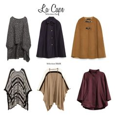 """cape"" by riyas on Polyvore featuring mode, Zara et H&M"