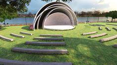 Teatro abierto en parque Samanes