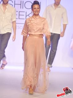 Adhuna Akhtar showstopper for Asmita Marwah
