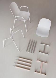 13eighty chair by Scholtn&Baijings at Hay Milan design week 2016 exhibition