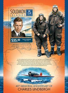 SLM 14316 bThe 40th memorial anniversary of Charles Lindbergh