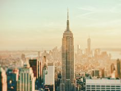 New York City - Skyline Dreamscape by Vivienne Gucwa, via Flickr