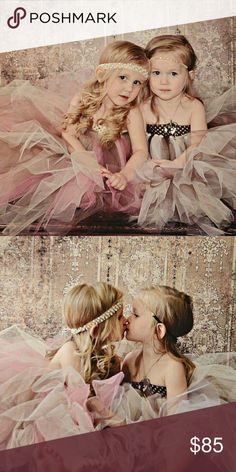 Tutu dresses Cute and full gowns for little ones. Great for weddings,  photoshoots, special occasions. Hand made custom designs, flowers can be added or dresses can be plain. Use quality tulle to help dresses be more comfortable to wear longer and avoid irritation. Dresses Formal