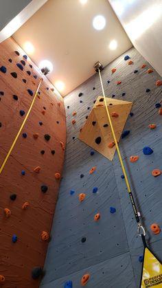 600 Riverside Apts, by Elevate Climbing Walls Climbing Wall, Rock Climbing, Bathroom Ideas, Walls, Wands, Wall, Climbing, Mountaineering
