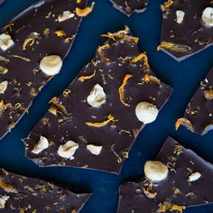 holiday candy orange hazelnut chocolate bark 3 tablespoons orange ...