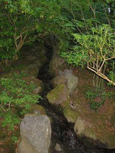 Portland Japanese Garden: Stream