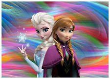 Frozen- Cake Topper Edible Image Icing Sheets Anna Frozen, Anna E Elsa, Film Frozen, Frozen Princess, Queen Elsa, Princess Anna, Elsa Olaf, Anna Kristoff, Princess Girl