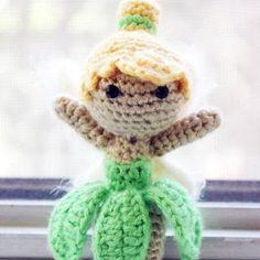 Neverland Fairy doll amigurumi pattern by Sahrit