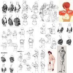[ #clothes #wear ] Drawing Guide, Art Reference, Photo Wall, Drawings, Frame, Illustration, Artist, Inspiration, Clothes