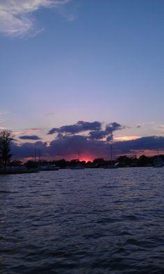 St Michael's sunset