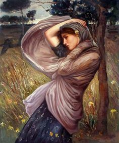 Waterhouse - Boreas ~~ oil painting reproductions available at overstockArt.com #art