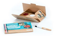 Kit de maquillage 3 couleurs - Pirate et coccinelle - Namaki - Enfant/Se maquiller, se déguiser - Doux-Good - Cosmétiques bio et naturels